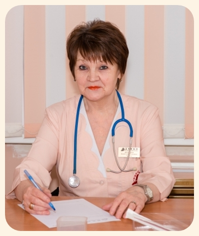 Мякинина В П - врач педиатр центра