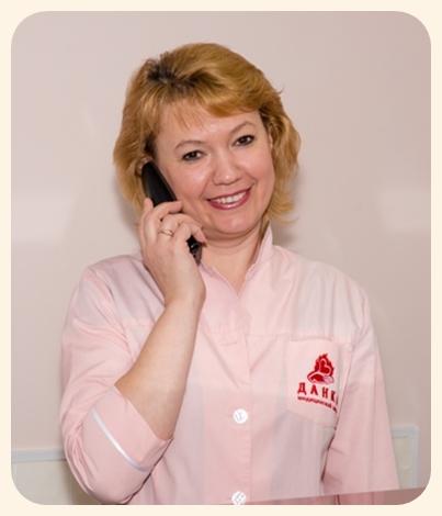 Ольга Троицкая- администратор